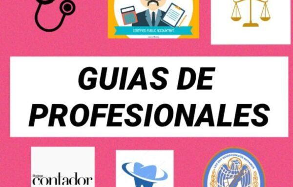 GUÍA DE PROFESIONALES