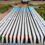 Esquina: El municipio adquirió 300 columnas de luz