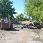 EL INTENDENTE BENITEZ DIJO: Es un anhelo de muchos años  la reparación de la calle Noain Ortigoza