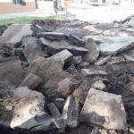 ESQUINA: Comenzó la repavimentación de la calle Velazco