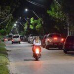 Nuevas luminarias para la calle S . CABRAL
